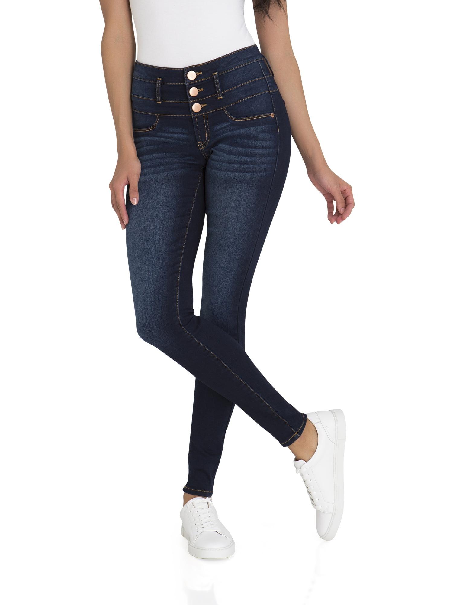 Juniors' Super Soft Triple Stack Jeans
