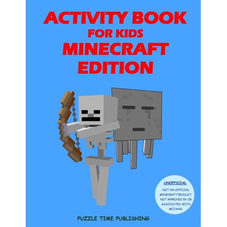 Activity Book for Kids : Minecraft Edition (Best Mod Installer For Minecraft)