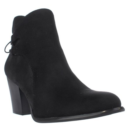 Womens Dirty Laundry by Chinese Laundry Wing It Lace Up Ankle Boots, Black - Lace Up Wig