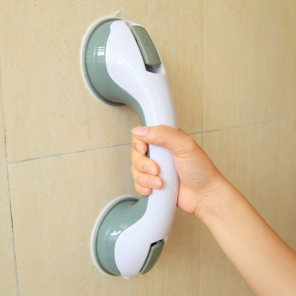 Jeobest Strong Suction Cup Safety Grab Bar Handle Handrail for Bathroom, Bathtub, Shower & Toilet MZ