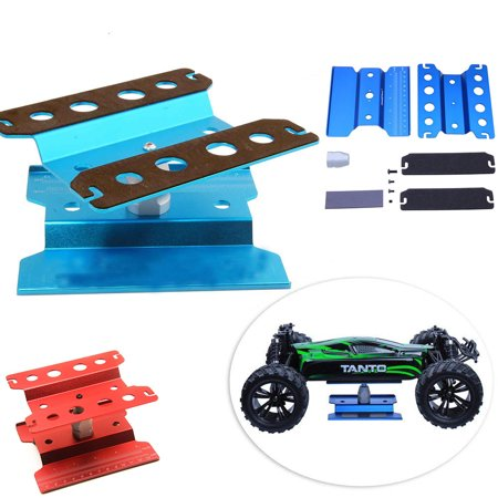 Work Stand Repair Workstation 360 Degree Rotation Lift/Lower Work Platform For 1/8 1/10 Scale RC Cars Trucks Buggies TRX4 SCX10 D90 General - image 1 of 8