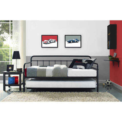 Better Homes and Gardens Kelsey Day Bed with Trundle, Multiple Finishes by Dorel Home Products