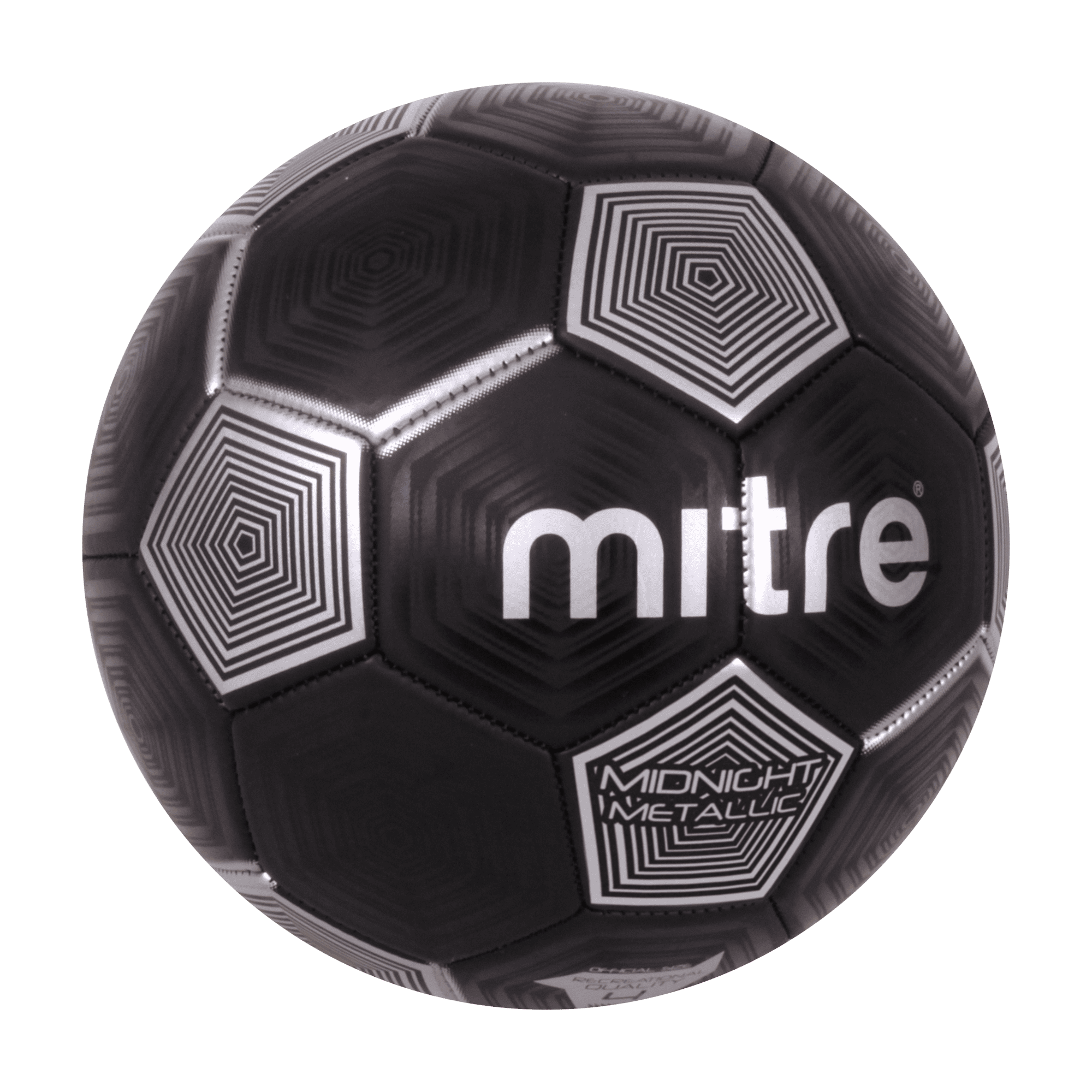 Mitre Metallic Size 3 Soccer Ball by Hedstrom