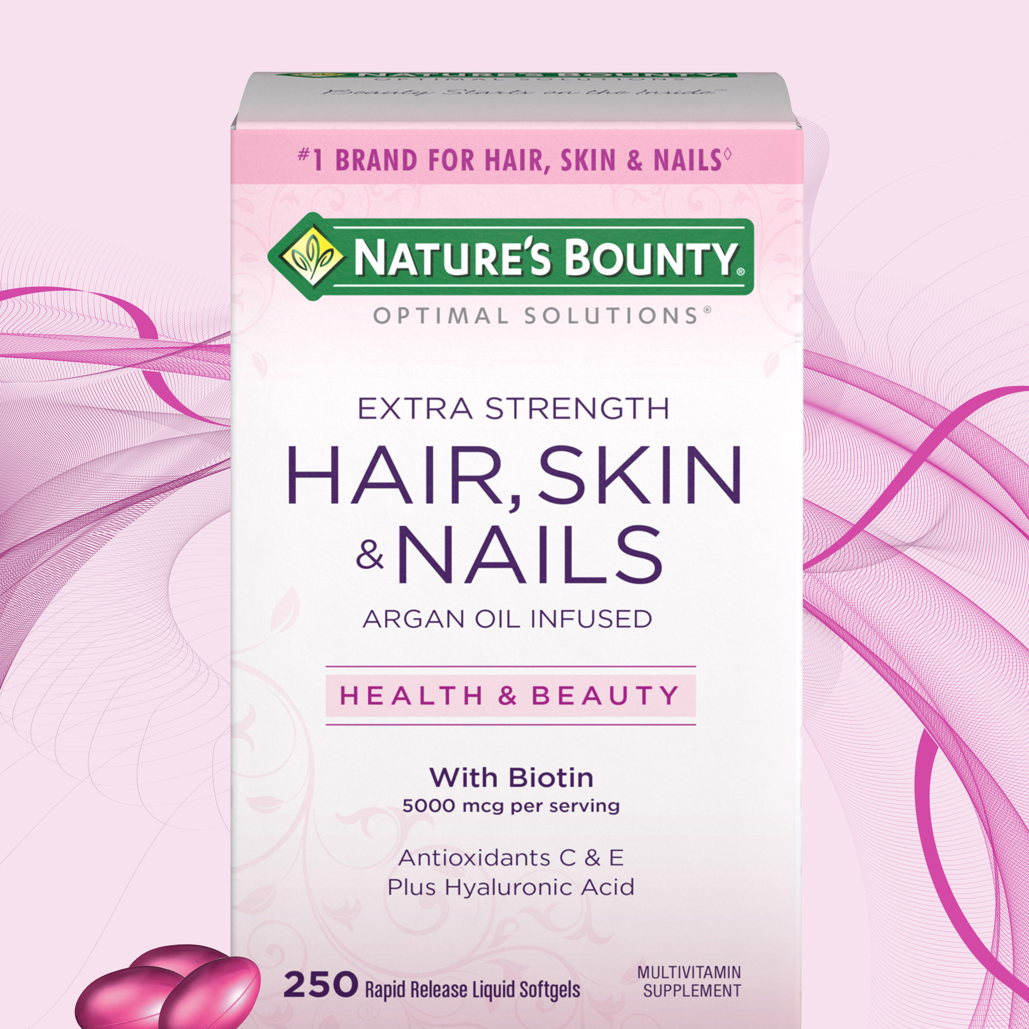 Nature's Bounty Hair Skin and Nails 250 Softgels