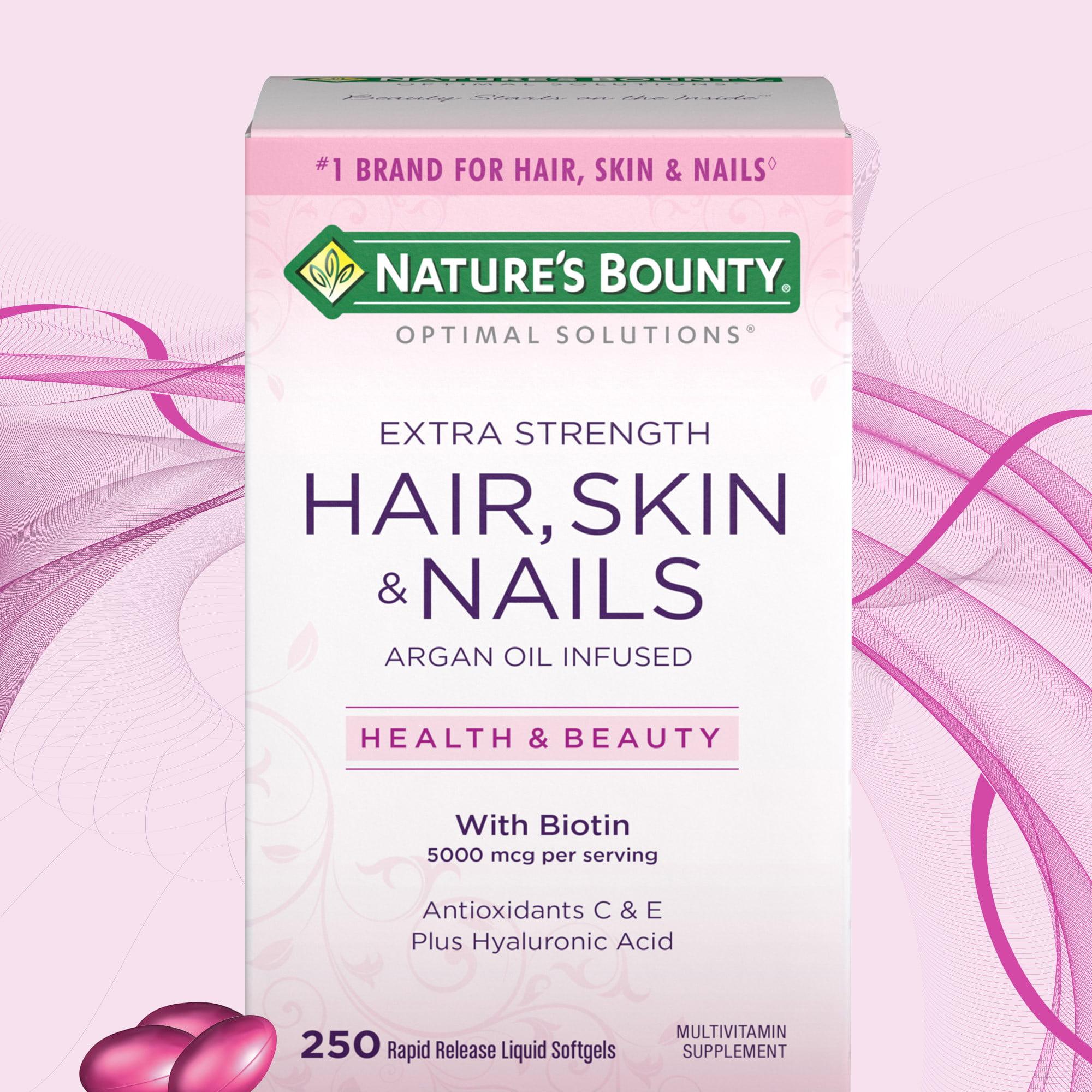 Nature's Bounty Hair Skin and Nails 250 Softgels