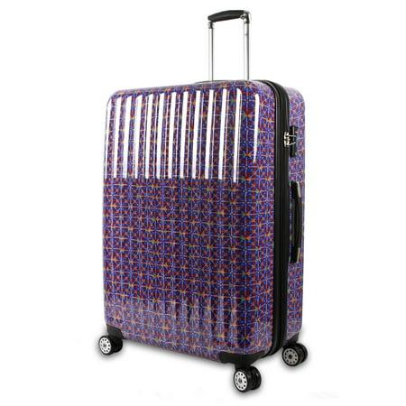 J World Titan 29 Inch Polycarbonate Art Luggage