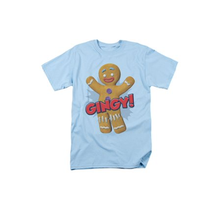 Shrek Animated Children's Comedy Movie Gingy Gingerbread Man Adult T-Shirt