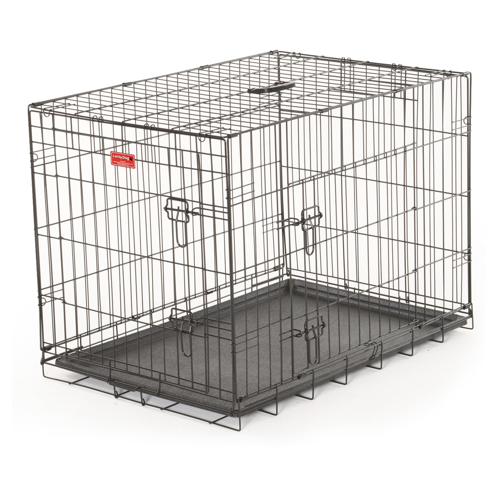 Lucky Dog Wire Travel & Training 2 Door Pet Crate