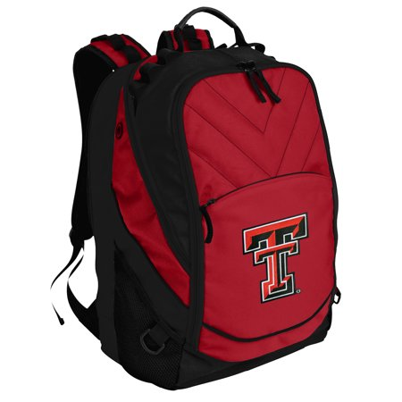 0dd5678b10 Texas Tech Backpack OFFICIAL Texas Tech Red Raiders Backpack or School Bag  PADDED for COMPUTERS and Laptops - Walmart.com