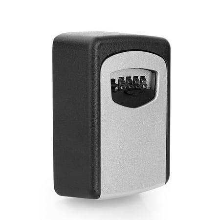 Home Security Wall Mount Outdoor Combination Key Storage Box Lock Car Door,Wall Mount Key Storage Security Lock