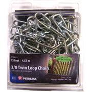 Peerless 2/0 Twin Loop Chain, 15'