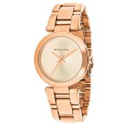 Michael Kors Women's Delray Watch Quartz Stainless Steel MK3518 - Rose Gold