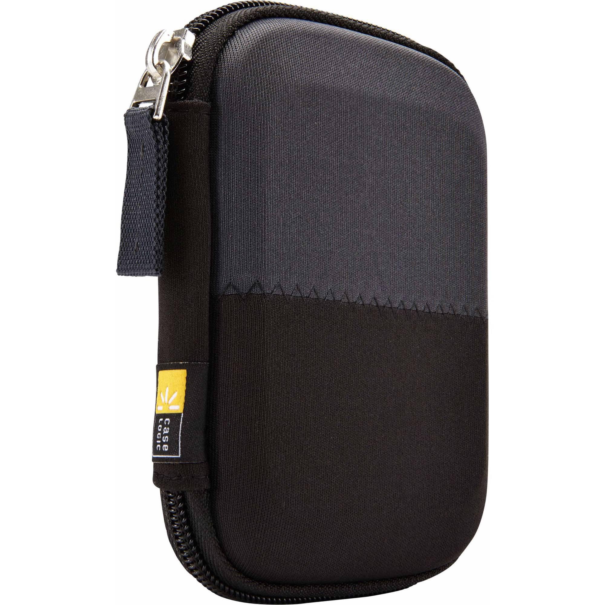 Case Logic HDC-11 Portable Hard Drive Case, Black