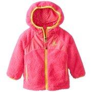 Rugged Bear Little Girls' Reversible Sherpa Jacket