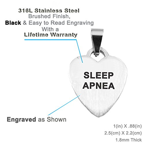 Black /& White Millefiori Glass Pattern Pink Pre-Engraved /& Customized Sleep Apnea Medical Bracelet My Identity Doctor