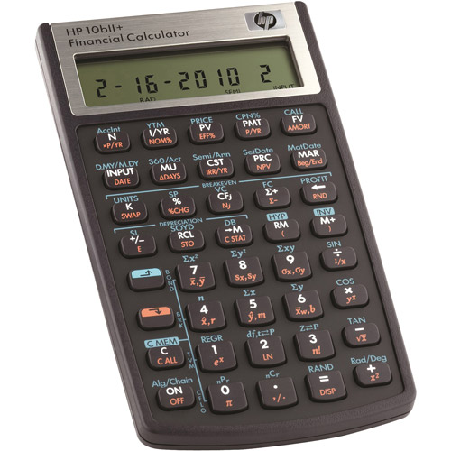 HewlettPackard  Digit Lcd Financial Calculator