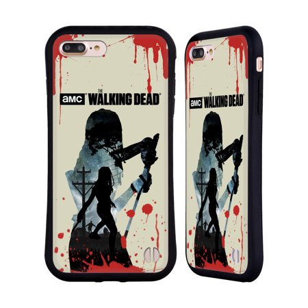 OFFICIAL AMC THE WALKING DEAD SILHOUETTES HYBRID CASE FOR APPLE IPHONES  PHONES