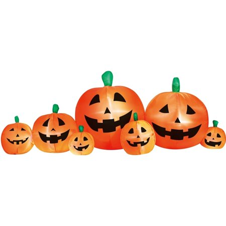 8' Pumpkin Patch Inflatable Halloween Decoration - Halloween Express Jobs