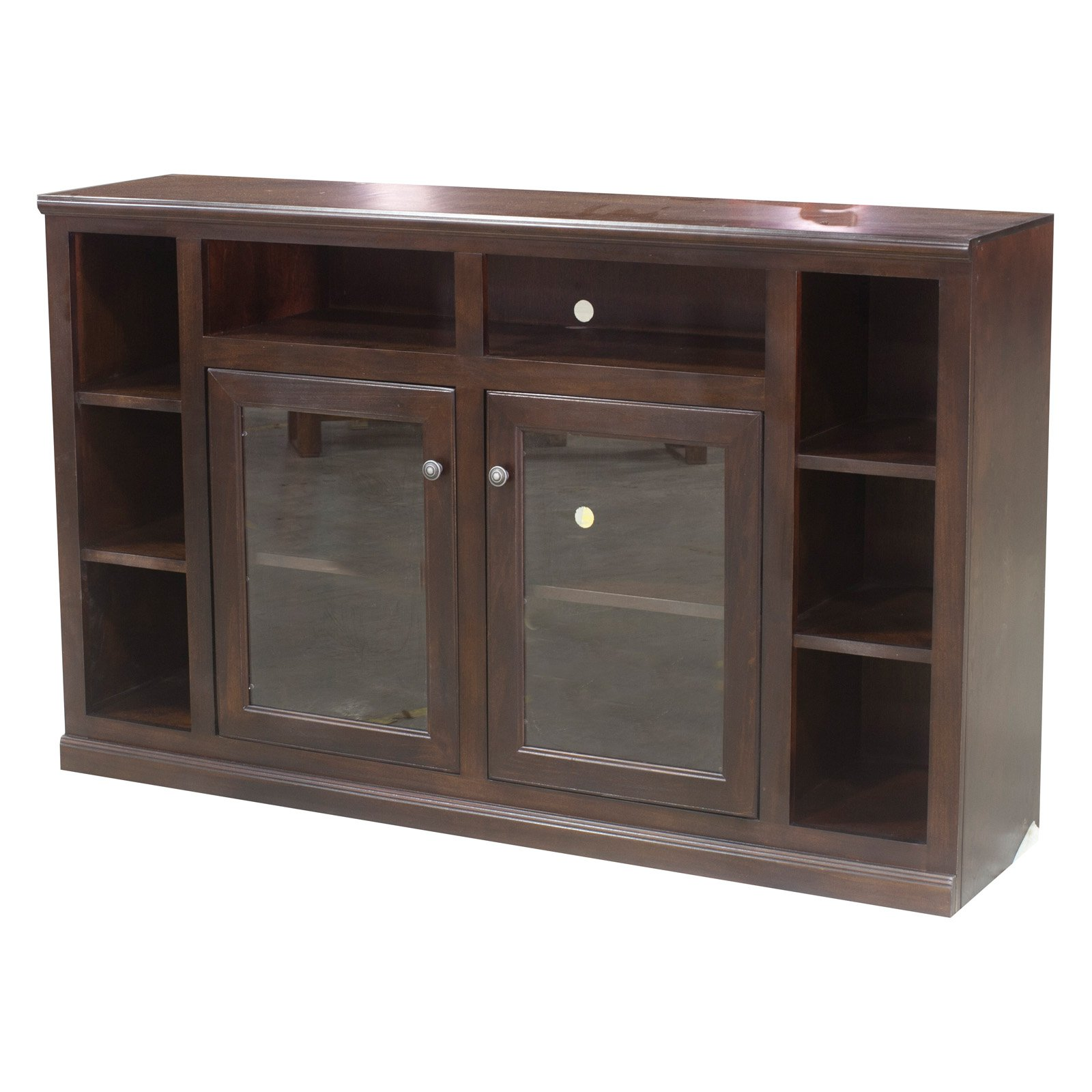 Eagle Furniture 66 in. Wide Coastal Bookcase Entertainment Console