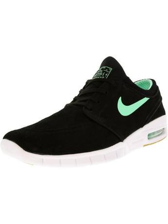 e1a2f56964 Nike Men's Stefan Janoski Max L Obsidian / Black White Ankle-High Fashion  Sneaker - 10M
