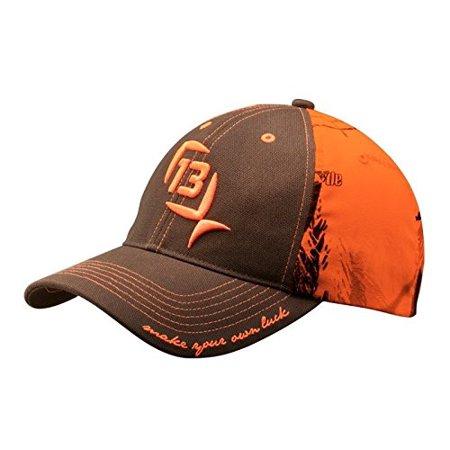 13 fishing the ditch chicken realtreeap blaze orange for Fishing snapback hats