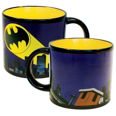 Bat-Signal Mug Heat Changing Bruce Wayne DC Justice League DC Comics Movie