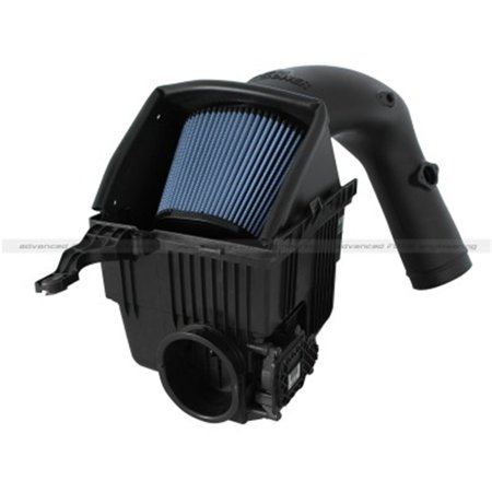 AFE/Advance Flow Engineering 54-32412 Cold Air Intake Magnum Force Stage 2 Black Molded Plastic;  Blue Pro 5 R Filter; With Heat Shield - image 1 of 2