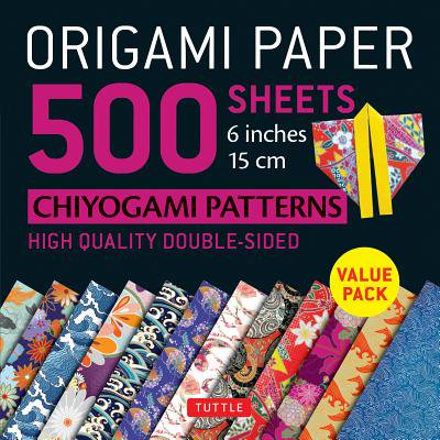 Origami Paper 500 sheets Chiyogami Designs 6