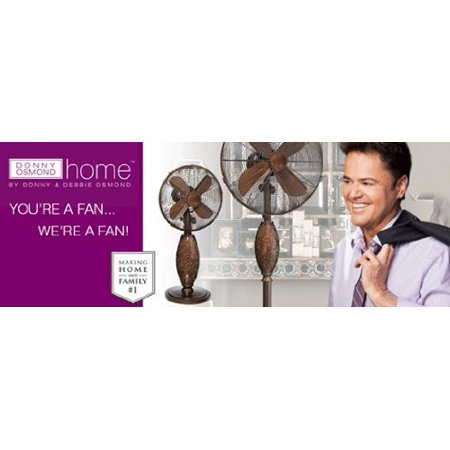 encircle floor standing fan - donny osmond home collection