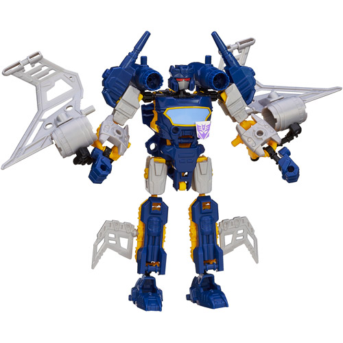 Transformers Construct-Bots Elite Class Soundwave Buildable Action Figure
