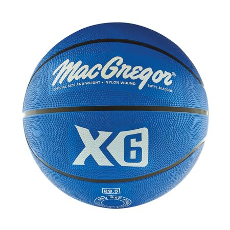 MacGregor® Blue Indoor/Outdoor Basketball - Official Size (Blue Jays Basketball)