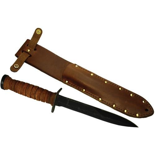 Ontario Mark III Trench Knife 8155 Fixed Blade & Sheath