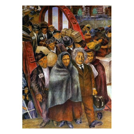 Immigrants, Nyc, 1937-38 Print Wall Art By Ben Shahn