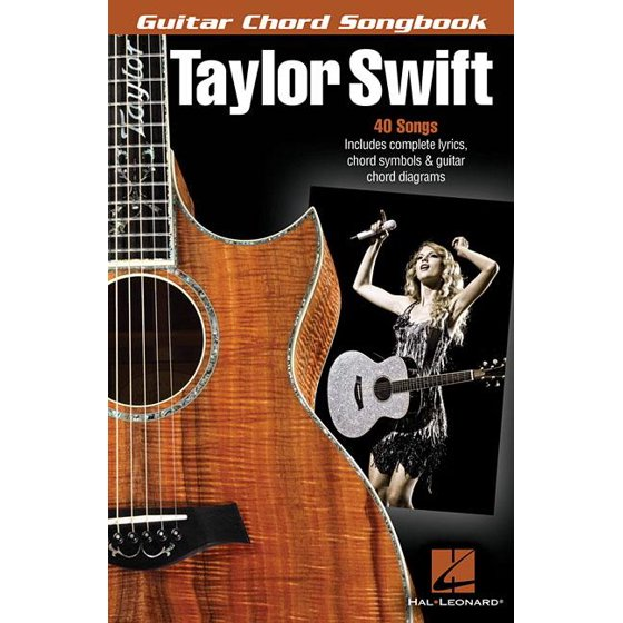 Guitar Chord Songbooks: Taylor Swift (Paperback) - Walmart.com