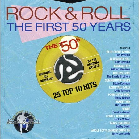 25 Top 10 Hits From the Early 50's - 25 Top 10 Hits From the Early 50's [CD] - 50's Style Home Decor