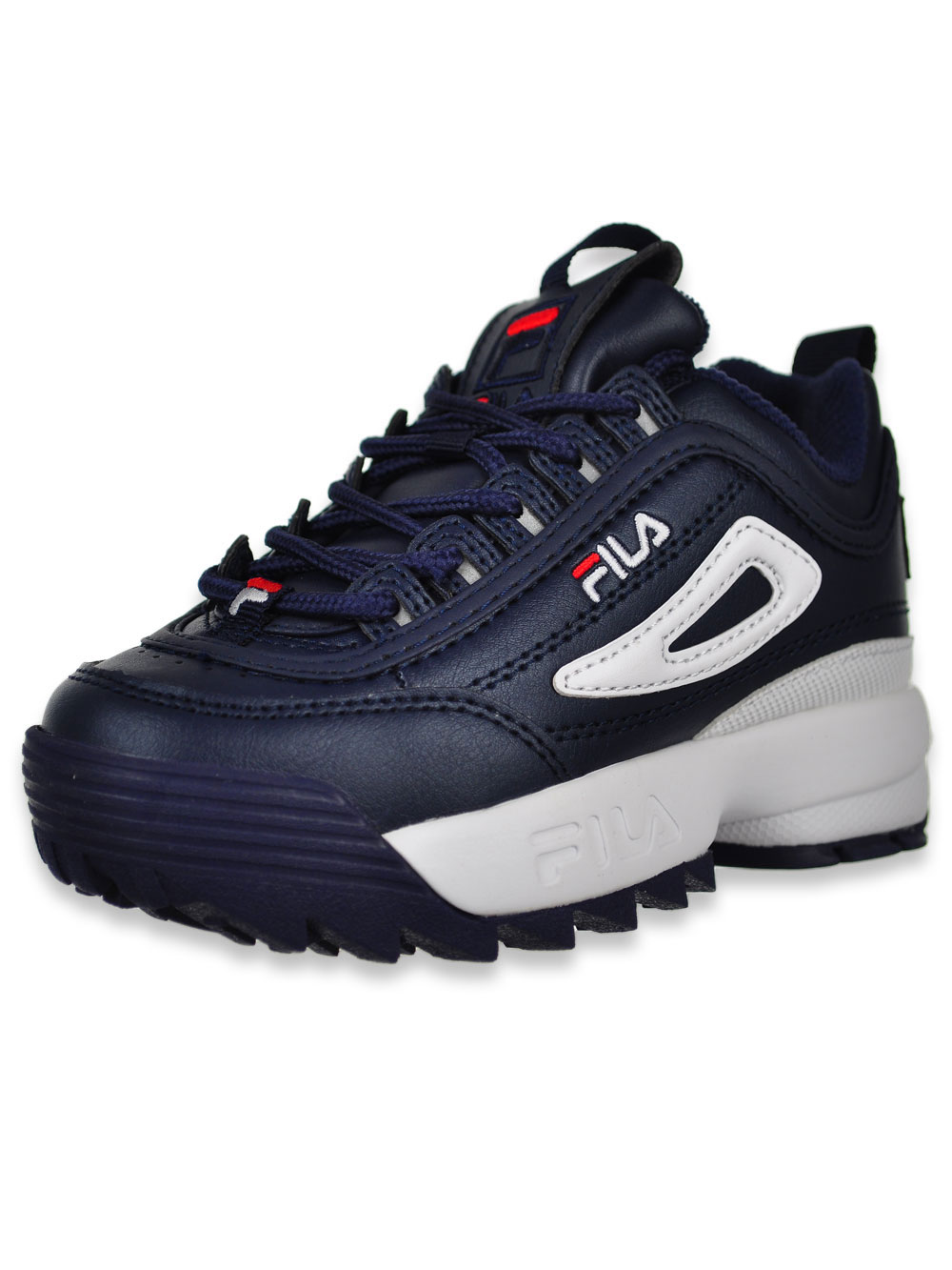 Fila Fila Boys' Disruptor II Sneakers (Sizes 11.5 3) bluemulti, 12 toddler