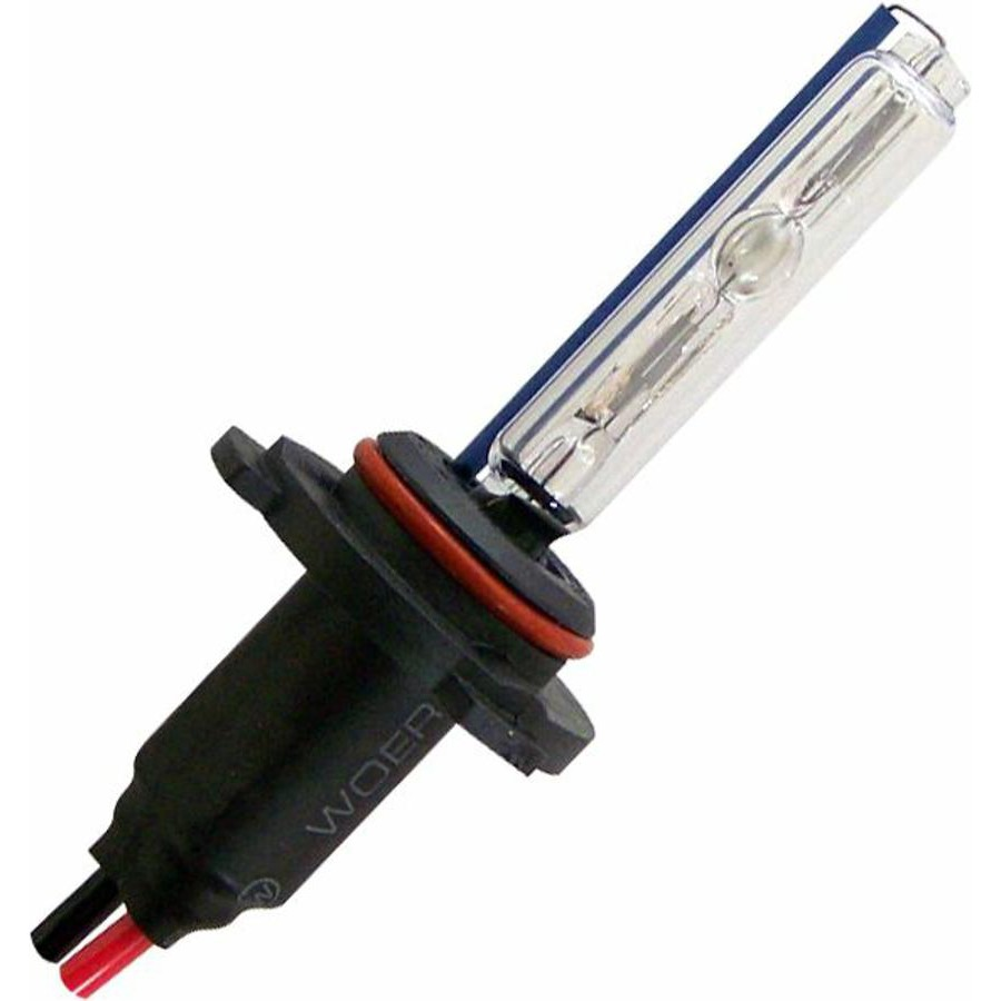 2 Ion HID 4,300 Color Temp 9005 Single Stage Bulbs  W/ Plug N Play Wire Harness