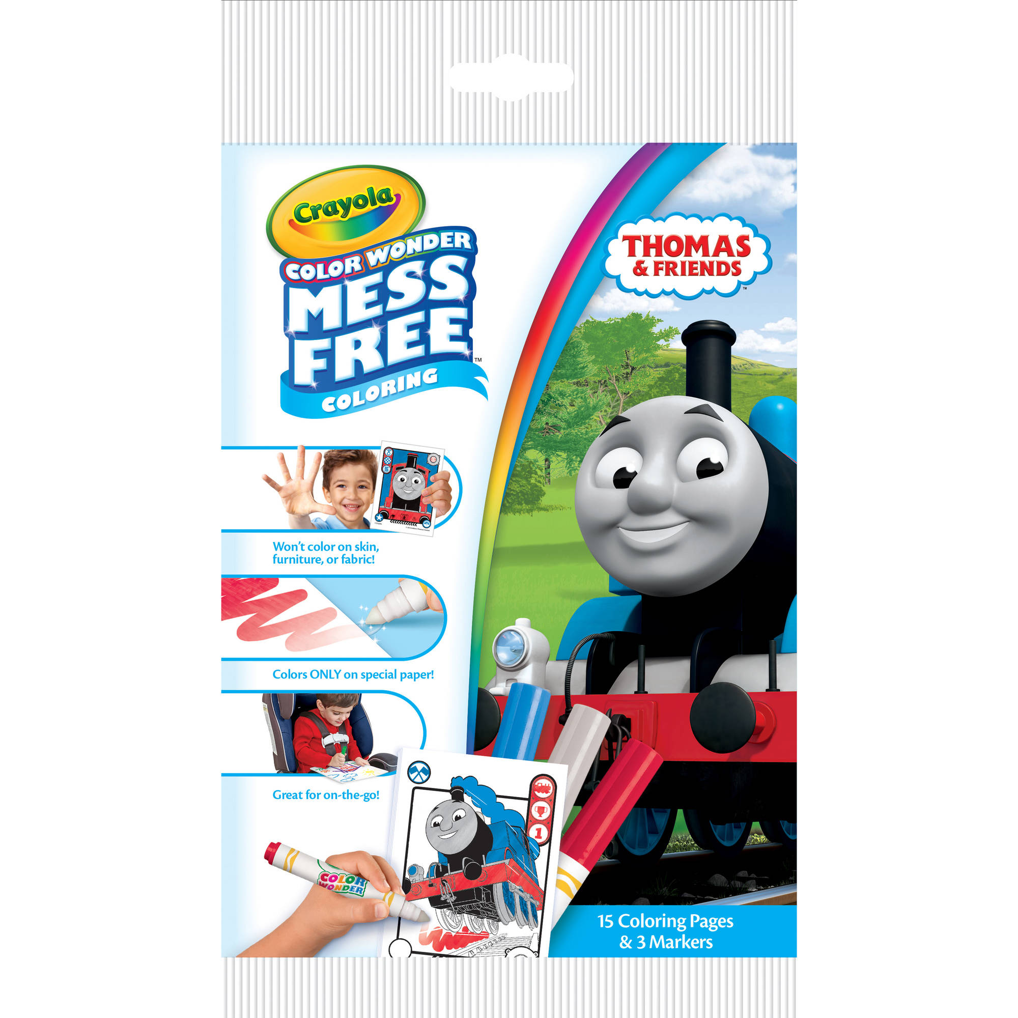 Crayola Color Wonder Thomas the Train Mini Marker and Paper Set