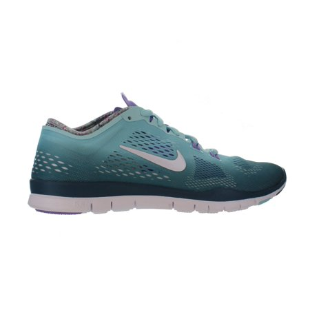 WMNS NIKE FREE 5.0 TR FIT 4 Glacier Ice/White-Atomic Violet -629496 400- RUNNING