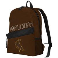 "NCAA Wyoming Cowboys ""Crossline"" Backpack, 16.5"" x 6"" x 12"""