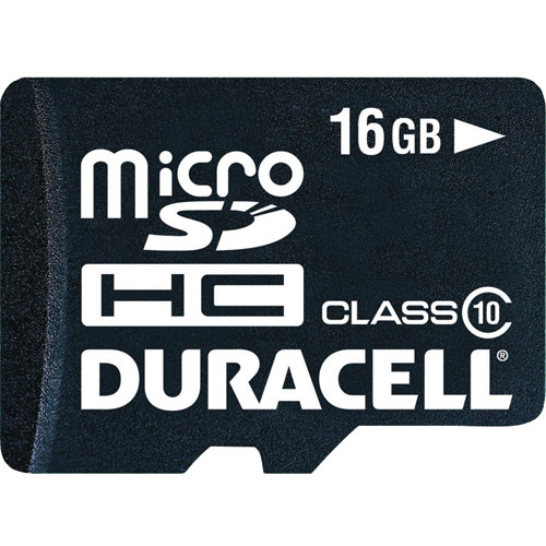 Duracell Du-3in1c1016g-c MicroSD Card With Universal Adapter, 16GB
