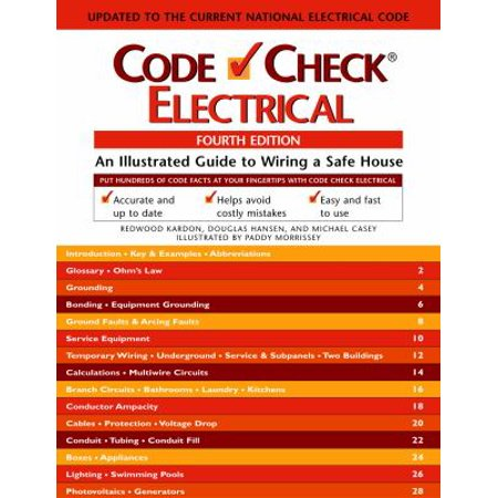 Code check electrical an illustrated guide to wiring a for Guide to wiring a house