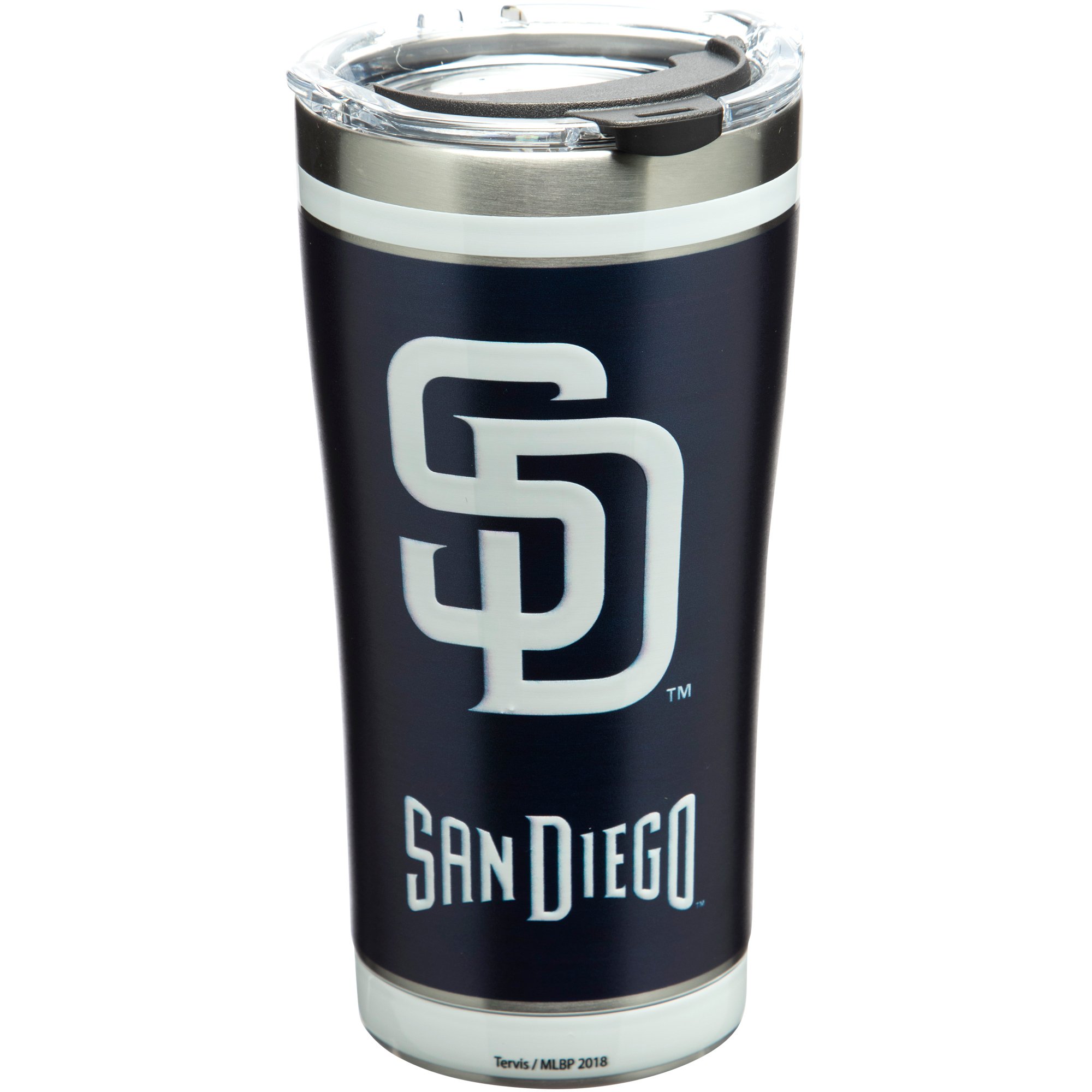San Diego Padres Tervis 20oz. Stainless Steel Tumbler - No Size