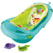 Fisher-Price Rainforest Friends Tub with Removable Insert, Green