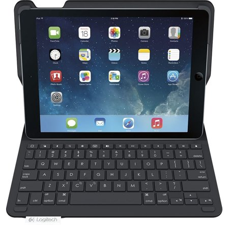 Logitech Type+ Wireless Keyboard Folio Case iPad 2018 6th Generation 9.7-inch A1893, A1954 - Refurbished (Logitech Ipad Folio Keyboard Case)