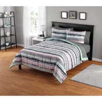 Your Zone Mida Stripe Comforter Set
