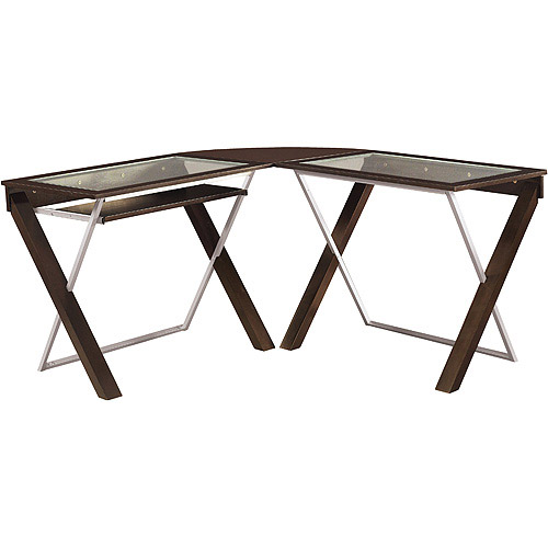 office star xtext lshaped computer desk with glass top