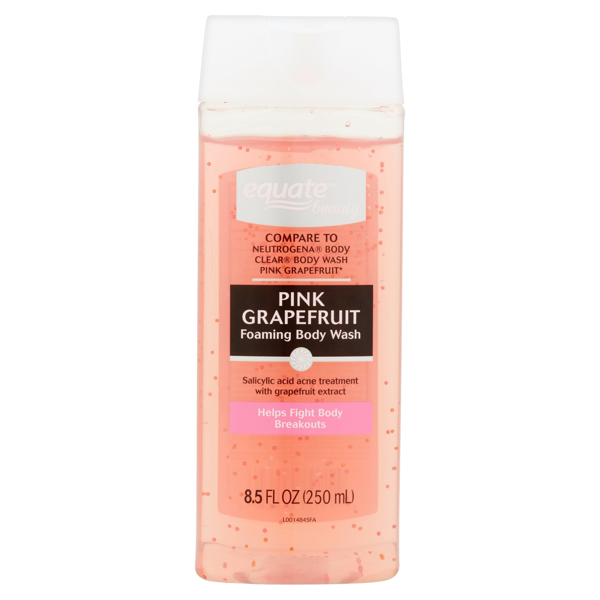 Equate Beauty Clarifying Pink Grapefruit Body Wash 8 5 Fl Oz