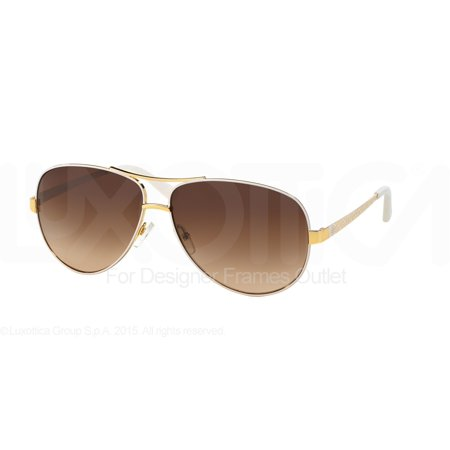 TORY BURCH Sunglasses TY6035 301913 Ivory Gold 60MM
