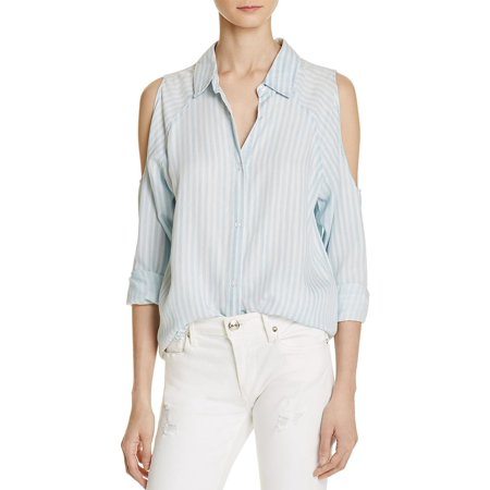 Rails Womens Sadie Button Up Striped Casual Top